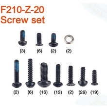 F17443 Walkera F210 RC Helicopter Quadcopter spare parts F210-Z-20 Screw Set