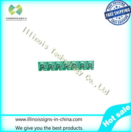 One-time Chip for Mimaki LH100-0597 UV Cartridge 7 colors CMYKLCLMWh printer parts