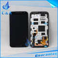 Для Motorola Moto X + 1X2 XT1095 XT1097 XT1092 ЖК-Экран с Сенсорным Дигитайзер + Рамка + Алюминиевый лист 1 шт. Бесплатная Доставка