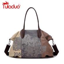 Bolsas Femininas 2018 Designer Handbags High Quality Casual Canvas Bag Women Handbags Sac Femme Tote Ladies Shoulder Hand Bag