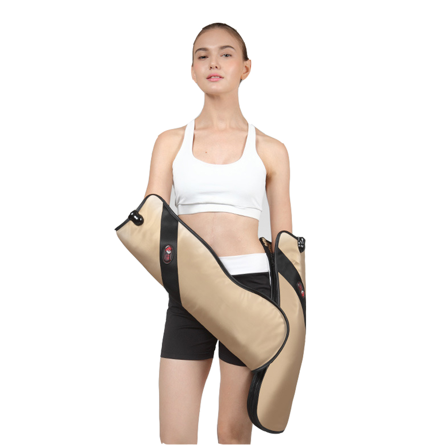 Electric Far infrared Waist Neck Shoulder Hand Massager Vibration Heating Meridian Physiotherapy device for Arms Joints