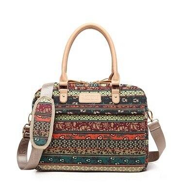 2018 Pop Fashion Bohemia Ladies Handbag Laptop Bag 14,15,15.6 inch,Case For Macbook Notebook Messenger Bag, Free Drop Shipping