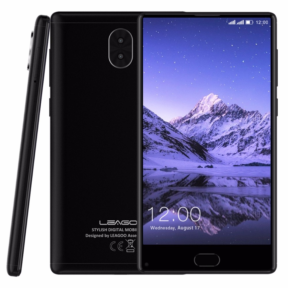 "LEAGOO KIICAA MIX 5.5"" Full Screen 3GB RAM 32GB Dual Back Cams Front Fingerprint Android 7.0 MTK6750T Octa Core 4G Smartphone"