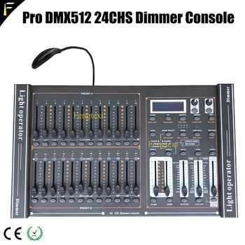 24 Channels DMX 512 Dimming Console Intelligent Dimmer Controller Table With LED Lighting For Show Affordable Free Shipping - DISCOUNT ITEM  0% OFF All Category