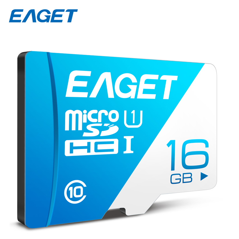 Eaget Original Micro SD Card 16GB 32GB 64GB 128GB High Speed Class 10 80MB/S Memory Card TF Card For Smartphone Driving Recorder netac class 10 16gb 32gb micro card sdhc tf card flash memory card data storage high speed 80mb s micro sd card for phone