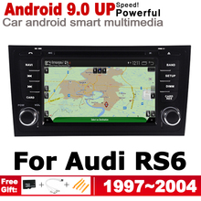 IPS Android 2 DIN Car DVD GPS For Audi RS6 4B 1997~2004 MMI Navigation multimedia player Stereo radio WiFi system недорого