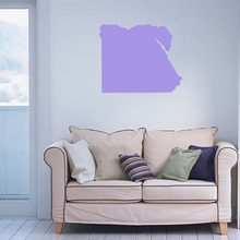 Egypt map Globe Earth Country wall vinyl sticker custom made home decoration fashion design