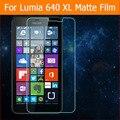 "2015 3x Anti-Fingerprint front matte films For nokia Lumia 640 XL 5.7"" front matte films Anti-Fingerprint panel with clean cloth"
