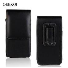 OEEKOI Clipe para Cinto Caso Bolsa de Cintura Titular Virar Capa de Couro PU para Sony Xperia E/tipo/miro/ go/SX/sola/U Drop Shipping