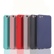 Cute Candy Colors Matte TPU SOFT Cover Case For Oppo A3 A3s A5 reno A7 A5s R11 R11s R7 R7s R9 R9s Plus R15 pro back Covers