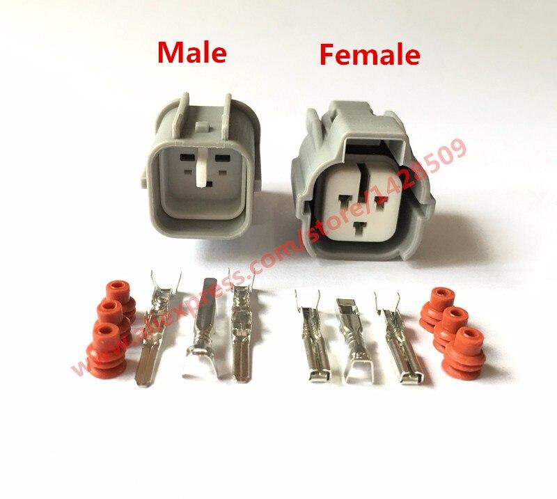 50 Sets Sumitomo 6189 0131 3 Pin Female Auto Car Connector Automotive Plug Camshaft Sensor Socket