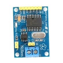 цена на DC 5V MCP2515 CAN V2.0B Bus Module TJA1050 Receiver SPI (L49) Interface Control Resistors Board For Arduino Electronic DIY