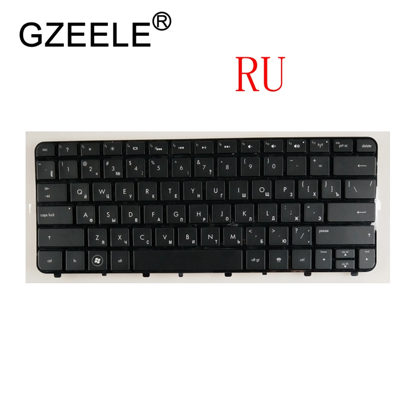 GZEELE New russian Laptop keyboard for HP Folio 13 13 1000 13 2000 13t 1000 series