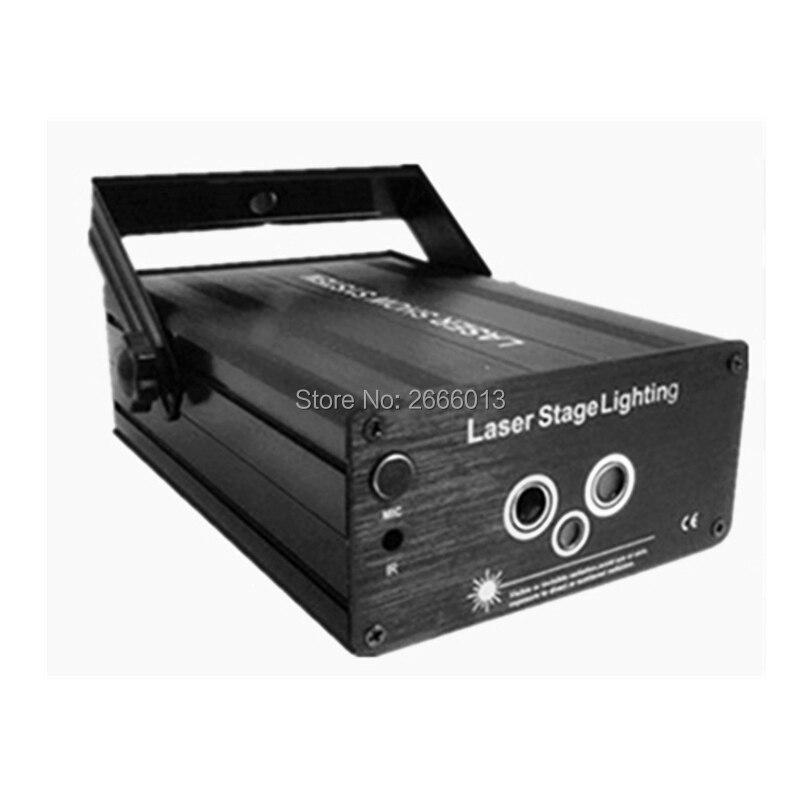 3 lente rgb padrão de laser aurora