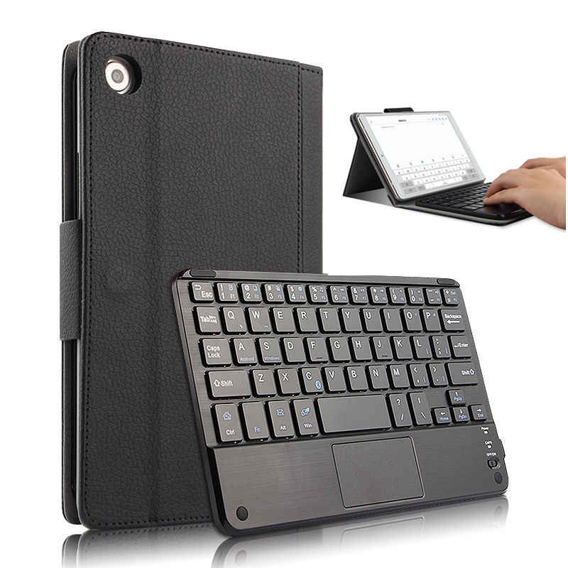 Case For Huawei MediaPad M5 8.4inch Protective Cover Bluetooth keyboard Protector Media pad m5 SHT-W09 8.4Tablet PU Leather Case