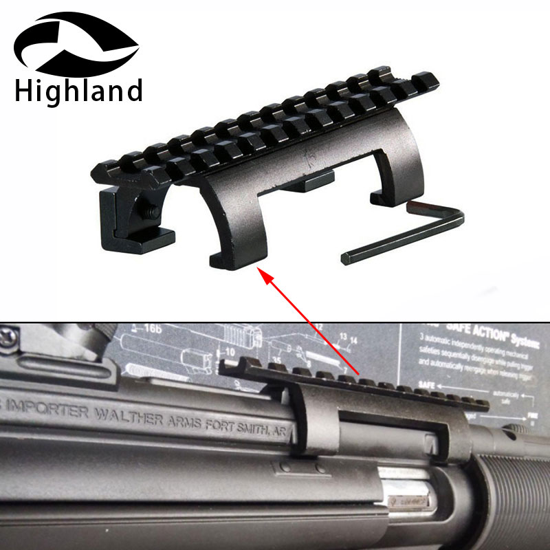 US $8 99 40% OFF|Hunting Accessories Mp5, Mk5,hk, G3,gsg5 Claw Scope Mount  For 20mm Picatinny/Weaver Rail Shooting Bipod-in Scope Mounts & Accessories