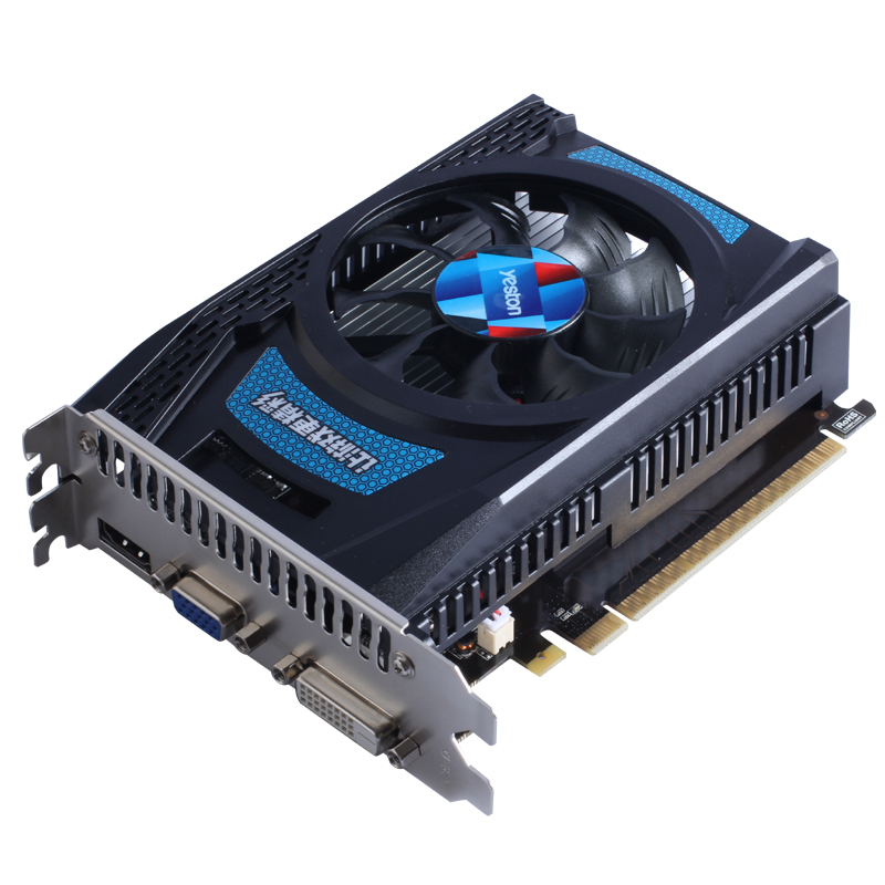 Yeston WideScreen NVIDIA GT730 2G DDR5 gaming graphic card HDMI 4K
