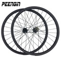 Bicicleta aro 26 горный велосипед колеса 2015 Tech улучшенный дизайн углеродная MTB Колесная установка/обод 35 мм ширина клинчер без копыта бескамерная AM