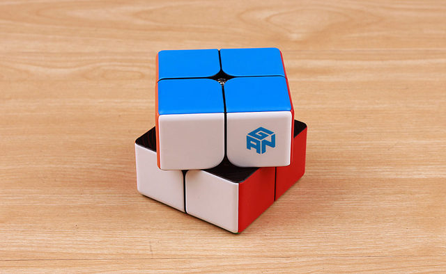 GAN249 V2 M 2x2x2 puzzle cube 2x2 Speed Magic Cube Puzzle V2 M Magnetic Professional cubo magico Twist Educational Toys for Kids 5