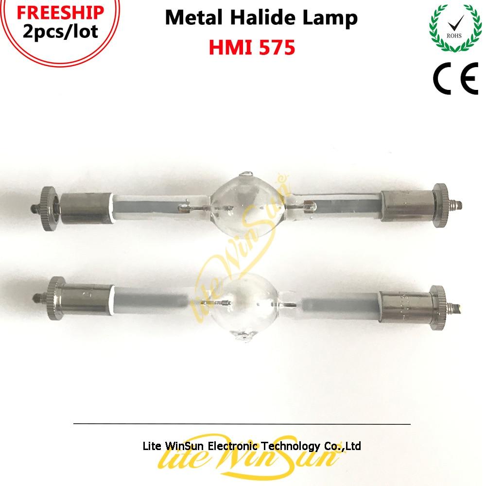 Litewinsune 2 pcs hmi575w 무대 조명 램프 hmi 575 w