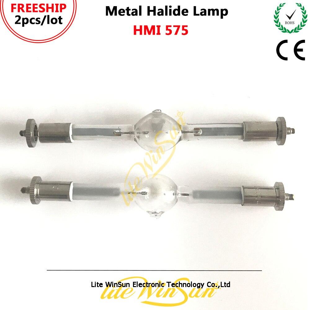 Litewinsune 2pcs HMI575W Stage Lighting Lamp HMI 575W