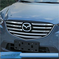For MAZDA CX-5 cx5 car grille Around Trim hood Racing material Grills Trim for cx-5 accessories