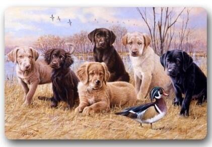 Memory Home Custom Door Mat Labrador Retriever Dog Indoor