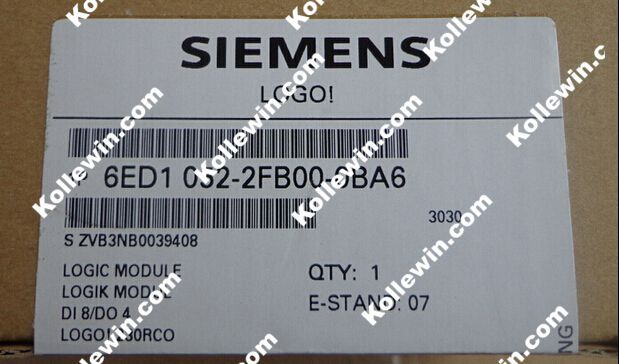 где купить Original SIMATIC LOGO! 230RCO 6ED1052-2FB00-0BA6 Logic Module 8DI/4DO; NEW 6ED1 052-2FB00-0BA6, 230V AC/DC, 6ED10522FB000BA6 дешево
