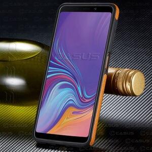 Image 2 - Per Samsung Galaxy A6 A8 Più A9 A7 2018 Caso di Lusso di Caso Della Copertura Vintage per la Galassia A7 2018 Caso Antiurto per il caso di A6 A8 Più