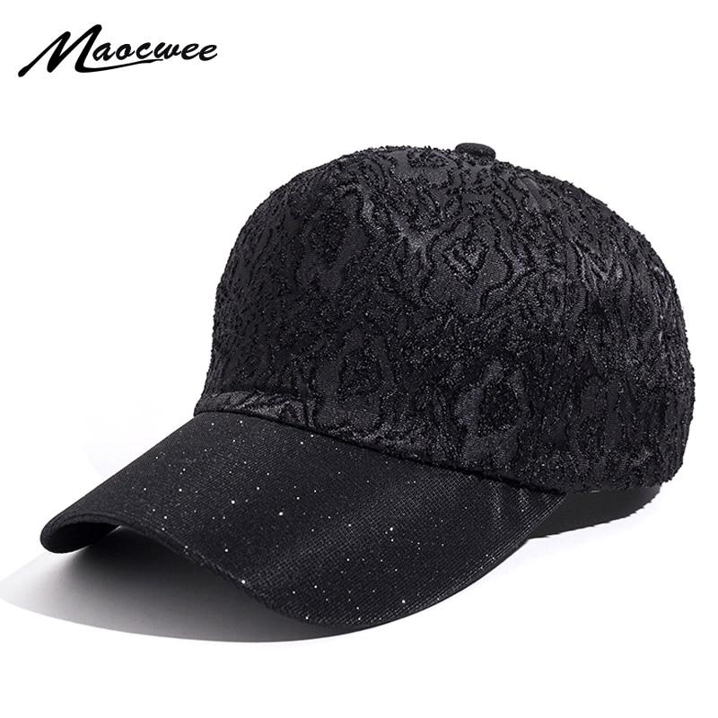 Cap Women Shiny Baseball Cap Casquette de Marque Gorras Hip Hop Snapback Caps Hats for Women Hat Casual Hats for Women Bones