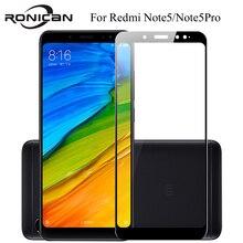 フルカバー強化ガラスxiaomi redmi注 5 プロnote5 首相グローバル 5.99 インチ画面保護スマートフォンに強化