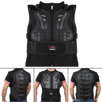 Mocna kurtka motocyklowa mężczyźni Full Body pancerz motocyklowy Motocross wyścigowy ochronny sprzęt ochrona motocykla rozmiar M-XXL tanie i dobre opinie Wstrząsoodporny Gąbka MW15999