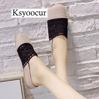 Brand Ksyoocur 2020 New Ladies Slippers Shoes Casual Women Shoes Comfortable Spring/autumn/summer Women Slippers Shoes X02 5