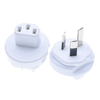 AUS plug to C13 adapter for USBCube,Australia AS3112 to IEC C13 PLUG adapter,510USPLUG Type I Plugs for PowerCube Rewirable image