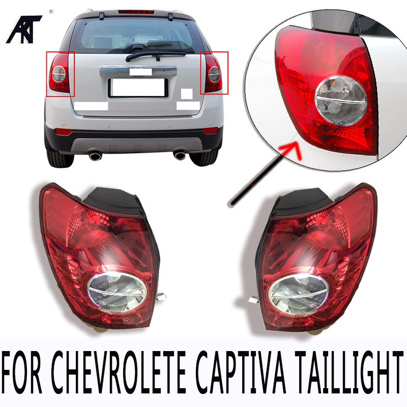 High Quanlity Rear Bumper Brake Light Tail Light Stop light taillight taillamp For Chevrolete Captiva 2008 2009 2010 1 pc outer rear tail light lamp taillamp taillight rh right side gr1a 51 170 for mazda 6 2005 2010 gg page 7