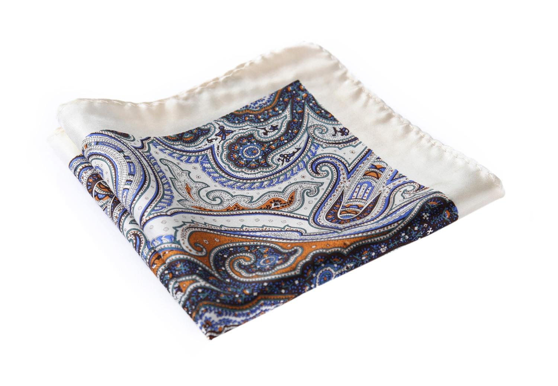 HN23B Handkerchief 100% Natural Silk Satin Mens Hanky Wedding Pocket Square