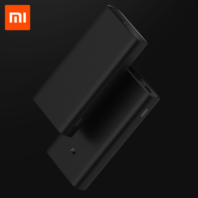 20000mAh Xiaomi Power Bank 3 Mi Power Bank 20000 mAh Pro PLM07ZM with Triple USB Output USB-C 45W Two-way Quick Charge