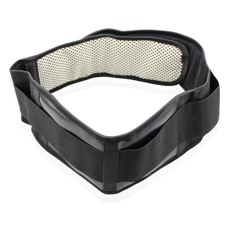 Adjustable Waist Tourmaline Self heating Magnetic Therapy Back Waist Support Belt 1