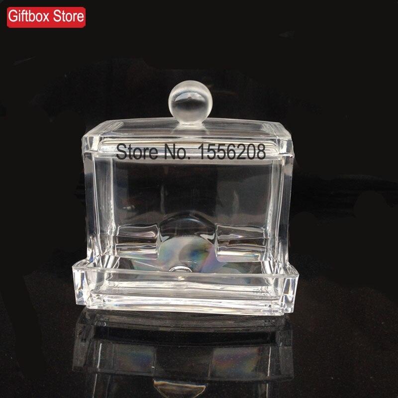 Cartuș de depozitare din plastic transparent Cutie de tampon din - Organizarea și depozitarea în casă - Fotografie 2