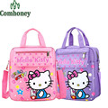 Hello Kitty School Bags for Girls Kids Minnie Mouse School Backpack Cartoon Print Boys Children Backpack for School Bookbag