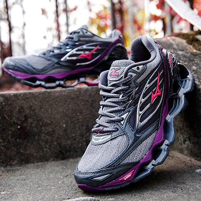 Tenis Mizuno Profecia Onda Mizuno Profecia 6 Mulheres Profissionais Sapatos Ao Ar Livre Sapatos de Desporto Respirável Tênis Sapato De Levantamento De Peso