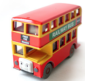 Free Shpping T0125 Diecast THOMAS  Bulgy The Tank Engine Take Along Train Metal Magnetic Trains Children Kids Toy Gift