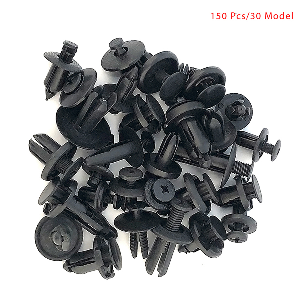 Image 3 - 150PCS Universal Mixed Car Bumper Leaf Plate Fender Trunk Screw Rivets Set For All Auto Plastic Fastener Clips DY336-in Auto Fastener & Clip from Automobiles & Motorcycles
