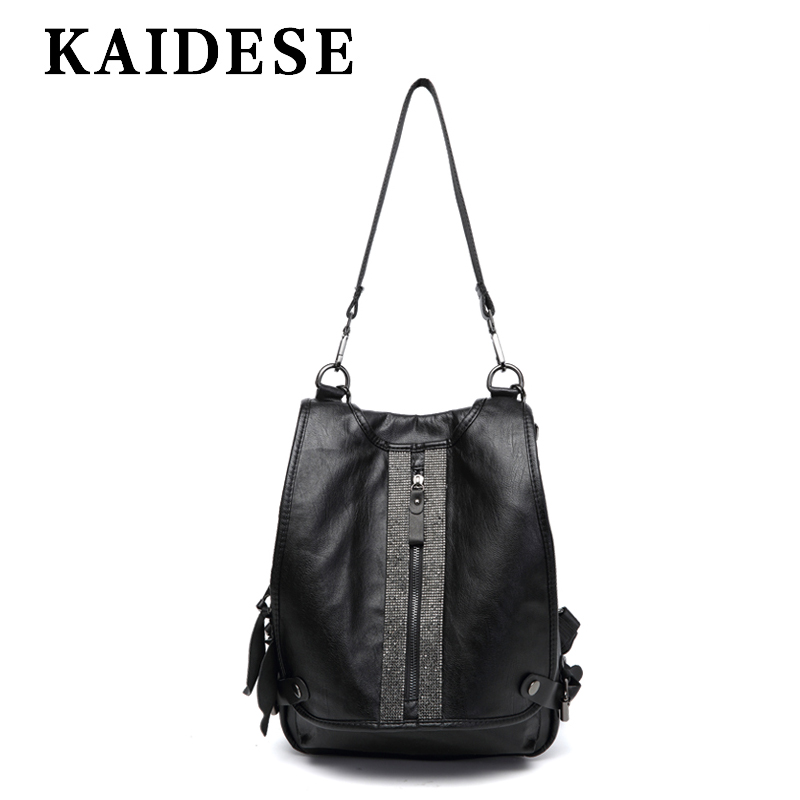 KAIDESE 2018 new fashion ladies shoulder bag Korean youth academy wind youth backpack leisure large capacity Backpack