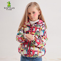 KAMIWA 2016 Cat Printing Girls Winter Coats And Jackets Kids Down Jacket Girls Clothes Parkas Children Baby Girls Clothing