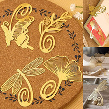 1 Pcs Mini Reading Gold Tone Romantic Metal Clips Bookmark Book Mark For Books Arts Label Great Gifts for Bookworm Kids