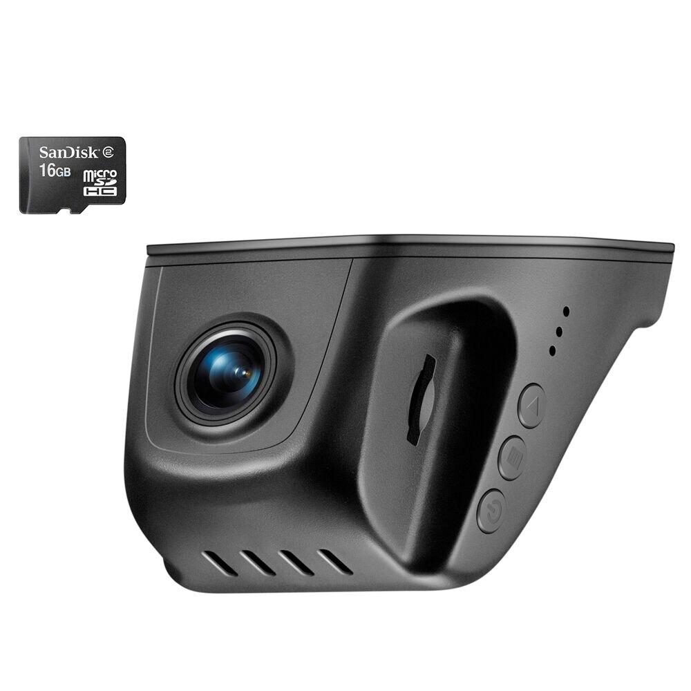 PLUSOBD Universal WIFI Car DVR Dash Camera Video Recorder Registrator Hidden Full HD 1080P 170 Degree Loop Recording G-sensor