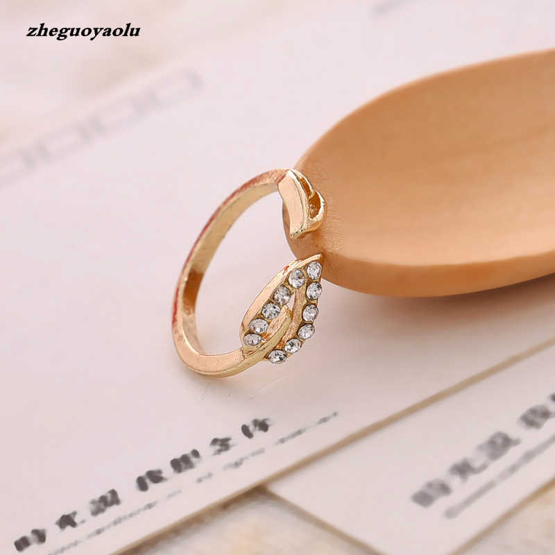 Personality Party Engagement Shiny Element Ring Female Gift Couple Opening Ring Foreign Trade Jewelry Wholesale Wedding Ring