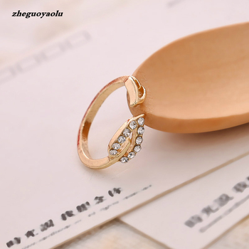 Personality Party Engagement Shiny Element Ring Female Gift Couple Opening Ring Foreign Trade Jewelry Wholesale Wedding Ring image