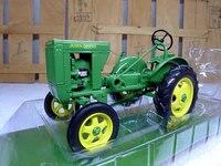 Knl хобби J Deere трактора вспашка машина сплав классическая модель автомобиля нам фермы speccast 1:16